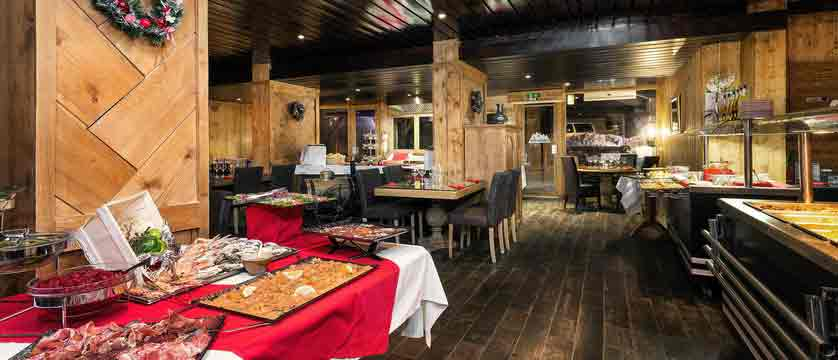 Hotel Le Mottaret - Dining room